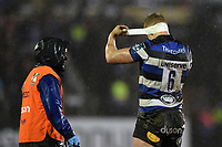 Tom Ellis of Bath Rugby. Anglo-Welsh Cup Semi Final, between Bath Rugby and Northampton Saints on March 9, 2018 at the Recreation Ground in Bath, England. Photo by: Patrick Khachfe / Onside Images