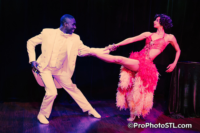 """Publicity images for """"Uptown"""" musical presented by COCA in St. Louis, Missouri."""
