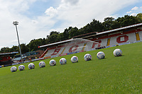 Genera View of the Lamex Stadium  during Stevenage vs Tranmere Rovers, Sky Bet EFL League 2 Football at the Lamex Stadium on 4th August 2018