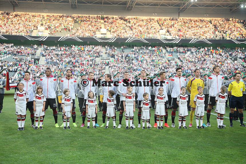 Deutsche Nationalmannschaft - Deutschland vs. Kamerun, Mönchengladbach