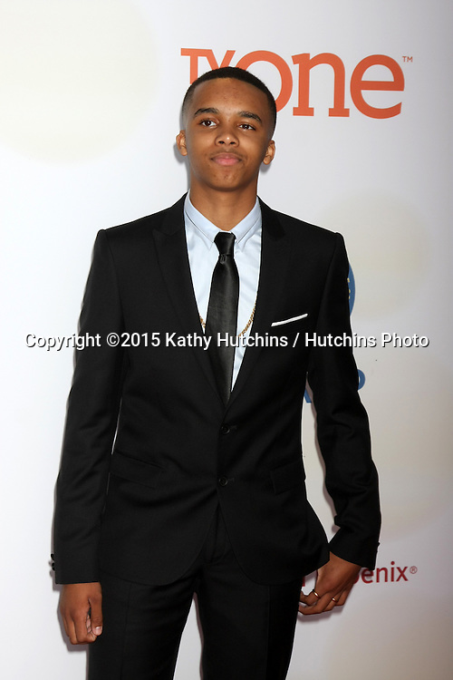 LOS ANGELES - FEB 6:  Donis Leonard Jr at the 46th NAACP Image Awards Arrivals at a Pasadena Convention Center on February 6, 2015 in Pasadena, CA