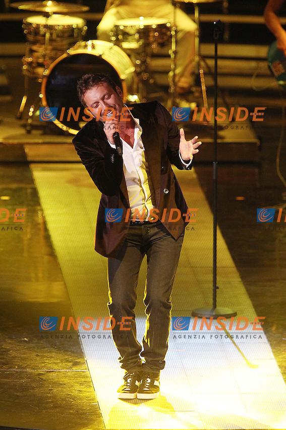 Cesare Cremonini..Montecatini Terme 09/09/2012..Finali nazionali Miss Italia 2012..Foto Insidefoto Paolo Nucci..