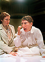 Louise Yates,Fiz Marcus in A kind of Alaska by Harold Pinter part of a double bill with Me and My Friend opens at the Orange Tree Theatre Richmond on 14/6/02  pic Geraint Lewis