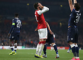 2nd November 2017, Emirates Stadium, London, England; UEFA Europa League group stage, Arsenal versus Red Star Belgrade; Olivier Giroud of Arsenal dejected after his shot on goal went over the bar