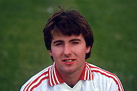 Pat McKeown, GAA footballer, Tyrone, N Ireland, 19870609PMK..Copyright Image from Victor Patterson, 54 Dorchester Park, Belfast, UK, BT9 6RJ..Tel: +44 28 9066 1296.Mob: +44 7802 353836.Voicemail +44 20 8816 7153.Skype: victorpattersonbelfast.Email: victorpatterson@me.com.Email: victorpatterson@ireland.com (back-up)..IMPORTANT: If you wish to use this image or any other of my images please go to www.victorpatterson.com and click on the Terms & Conditions. Then contact me by email or phone with the reference number(s) of the image(s) concerned.