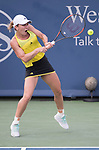 August  19, 2017:  Simona Halep (ROU) defeated Sloane Stephens (USA) 6-2, 6-1, at the Western & Southern Open being played at Lindner Family Tennis Center in Mason, Ohio. ©Leslie Billman/Tennisclix