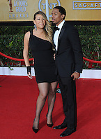 Mariah Carey &amp; Nick Cannon at the 20th Annual Screen Actors Guild Awards at the Shrine Auditorium.<br /> January 18, 2014  Los Angeles, CA<br /> Picture: Paul Smith / Featureflash
