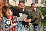 Zeppo: Blues/Jazz/Funk - a little of what you like - Linda Galvin, John Connolly and Mossi Twomey of Kerry band Zeppo, who have just released their first all-original album while producing 200 limited edition eco-friendly cd jackets.   Copyright Kerry's Eye 2008
