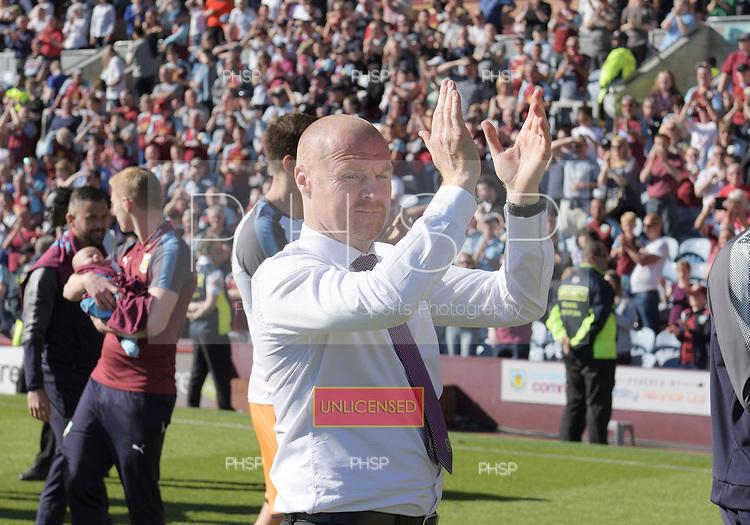13/05/2018 Premier League Burnley v AFC Bournemouth<br /> <br /> Sean Dyche