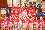 CHAMPIONS: The Naomh Padraig-Camp LadiesGAA team that won the Kerry Junior C championship..Front L/r. Helen O'Sullivan, Eileen Counihan, Martina Quirke, Geaoid Flaherty (Mascot), Sobhan Flahive, Ailish Deane, Theresa Greaney, Shauna Finn..Second row L/r. Una Lynch, Ursula O'Toole, Andrea O'Connor, Annette Flaherty (cpt), Niamh Daly, Marie Finn, Breda Quirke, Mary Ryle..Back row L/r. Ann Egar (Manager), Andrea O'Donoghue, Louise Kelliher, Deirdre Poff, Ailsing Daly, Michelle Finn, Irene McKena, Joan Devane.   Copyright Kerry's Eye 2008