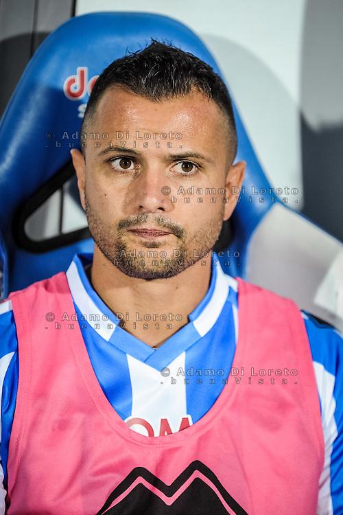 Simone Pepe (Pescara) during the Italian Serie A football match Pescara vs SSC Inter on September 11, 2016, in Pescara, Italy. Photo by Adamo DI LORETO
