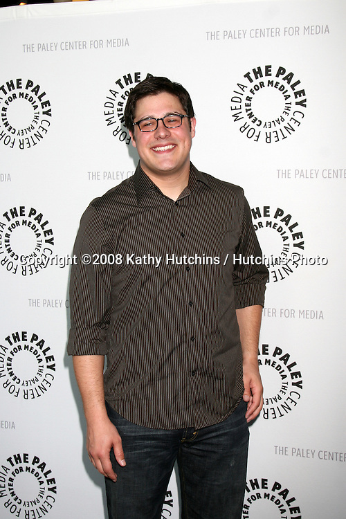 "Rich Sommer.""Mad Men"" - PaleyFest08.Paley Center for Media's 24th William S. Paley Television Festival.ArcLight Theater.Los Angeles, CA.March 27, 2008.©2008 Kathy Hutchins / Hutchins Photo"
