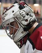 Raphael Girard (Harvard - 30) - The Harvard University Crimson defeated the Princeton University Tigers 3-2 on Friday, January 31, 2014, at the Bright-Landry Hockey Center in Cambridge, Massachusetts.