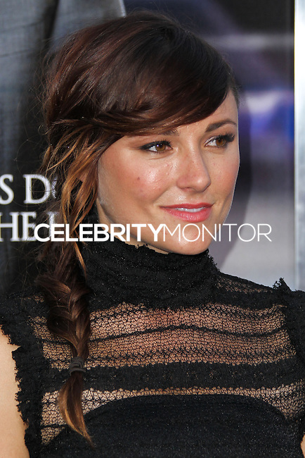 """WESTWOOD, LOS ANGELES, CA, USA - APRIL 07: Briana Evigan at the Los Angeles Premiere Of Summit Entertainment's """"Draft Day"""" held at the Regency Bruin Theatre on April 7, 2014 in Westwood, Los Angeles, California, United States. (Photo by Xavier Collin/Celebrity Monitor)"""