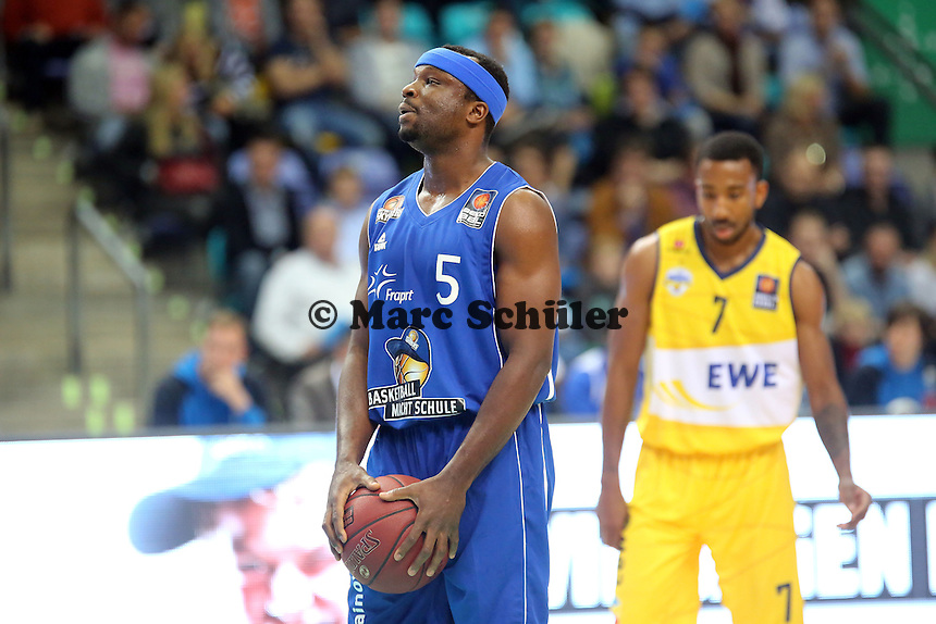 Dawan Robinson (Skyliners) - Fraport Skyliners vs. EWE Baskets Oldenburg, Fraport Arena Frankfurt