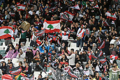 4th November 2017, Sydney Football Stadium, Sydney, Australia; Rugby League World Cup, England versus Lebanon; Lebanese fans celebrate their first try