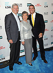 """Andy Cohen with his mother Evelyn and father Lou Cohen at the book party hosted by Bravo for """"Most Talkative Stories from the Front Line of Pop Culture"""" by Andy Cohen held at SUR Lounge in West Hollywood May 14, 2012. © Fitzroy Barrett"""