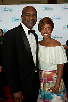 "ST. PAUL, MN JULY 16: Former heavyweight champion Evander Holyfield poses on the red carpet at the Starkey Hearing Foundation ""So The World May Hear Awards Gala"" on July 16, 2017 in St. Paul, Minnesota. Credit: Tony Nelson/Mediapunch"