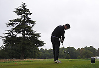 Kristian Krogh Johannessen (NOR) on the 9th tee during Round 2 of the Bridgestone Challenge 2017 at the Luton Hoo Hotel Golf &amp; Spa, Luton, Bedfordshire, England. 08/09/2017<br /> Picture: Golffile | Thos Caffrey<br /> <br /> <br /> All photo usage must carry mandatory copyright credit     (&copy; Golffile | Thos Caffrey)