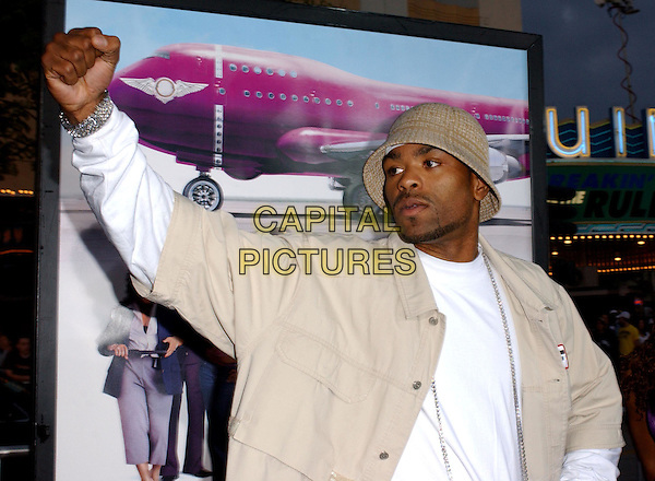 METHOD MAN.At the MGM Pictures' World Premiere of Soul Plane, held at The Mann Village Theatre in Westwood, California,.May 17,2004.half length half-length hat long silver chain necklace arm up gesture.*UK sales only*.www.capitalpictures.com.sales@capitalpictures.com.©Debbie Van Story/Capital Pictures