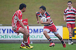 Counties Manukau Academy XV vs Wesley College First XV curtain raiser rugby game before the IRB Pacific Rugby Cup game between the Chiefs Development XV and Tonga A played at Bayer Growers Stadium Pukekohe on March 4th 2011.