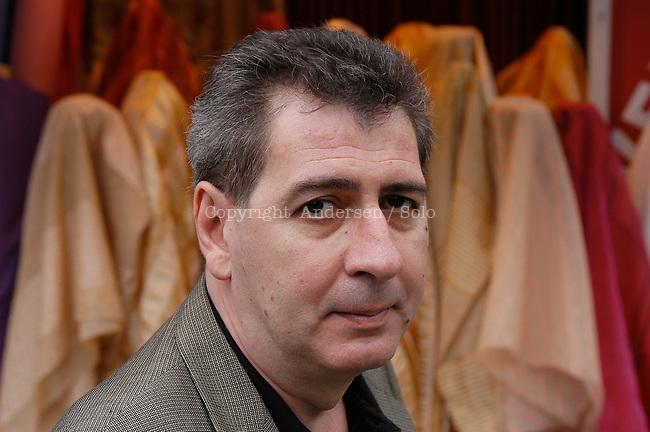 French author Pierre Merot in Paris.