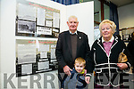 At the  launched an Exhibition entitled 'Kerry 1916' from the Archives', at the Kerry county Library  Tralee on Tuesday were Donal Dowling, Julia Dowling and Michael Dowling, Banna