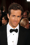 HOLLYWOOD, CA. - March 07: Ryan Reynolds arrives at the 82nd Annual Academy Awards held at the Kodak Theatre on March 7, 2010 in Hollywood, California.