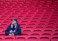 Bristol fan enjoying the pre match atmosphere<br /> <br /> Photographer Bob Bradford/CameraSport<br /> <br /> Gallagher Premiership - Bristol Bears v Sale Sharks - Friday 3rd May 2019 - Ashton Gate - Bristol<br /> <br /> World Copyright © 2019 CameraSport. All rights reserved. 43 Linden Ave. Countesthorpe. Leicester. England. LE8 5PG - Tel: +44 (0) 116 277 4147 - admin@camerasport.com - www.camerasport.com