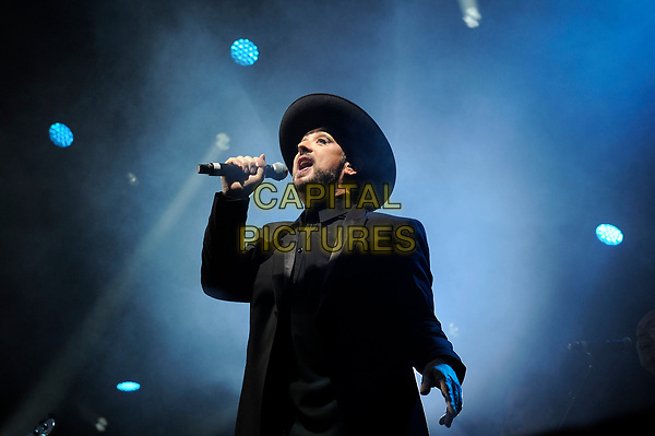 SURREY, ENGLAND - JULY 20: Boy George (George Alan O'Dowd) of 'Culture Club' performing at Jockey Club Live, Epsom Downs Racecourse on July 20, 2017 in Surrey, England.<br /> CAP/MAR<br /> &copy;MAR/Capital Pictures