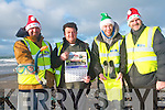 Banna Sea Rescue are calling on everyone to take part in this year's Christmas day swim to help raise funds for this vital service. .L-R Thomas Fitzgerald, Tommy Long, Michael McCarthy and Raymond Cowman.