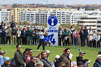 Paul Dunne (IRL) on the 4th tee during Round 4 of the Open de Espana 2018 at Centro Nacional de Golf on Sunday 15th April 2018.<br /> Picture:  Thos Caffrey / www.golffile.ie<br /> <br /> All photo usage must carry mandatory copyright credit (&copy; Golffile | Thos Caffrey)