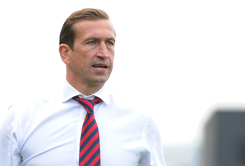Newport County's Manager Justin Edinburgh  <br /> <br /> Photo by Ashley Crowden/CameraSport<br /> <br /> Football - The Football League Sky Bet League Two - Newport County v Torquay United - Saturday 28th September 2013 - Rodney Parade - Newport<br /> <br /> &copy; CameraSport - 43 Linden Ave. Countesthorpe. Leicester. England. LE8 5PG - Tel: +44 (0) 116 277 4147 - admin@camerasport.com - www.camerasport.com