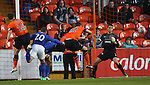 Ross Barkley heads in to score for Everton