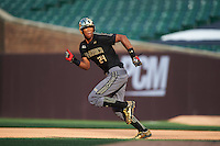 Will Benson (24) of The Westminster Schools in Atlanta, Georgia during the Under Armour All-American Game on August 15, 2015 at Wrigley Field in Chicago, Illinois. (Mike Janes/Four Seam Images)