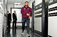 Cameron Carter-Vickers of Swansea City arrives for the Sky Bet Championship match between Derby City and Swansea City at the Pride Park Stadium in Derby, England, UK. Saturday 01 December 2018