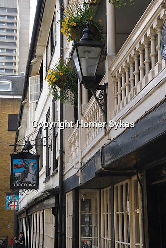 The George, Public House, Borough High Street, Southwark, London SE1 UK