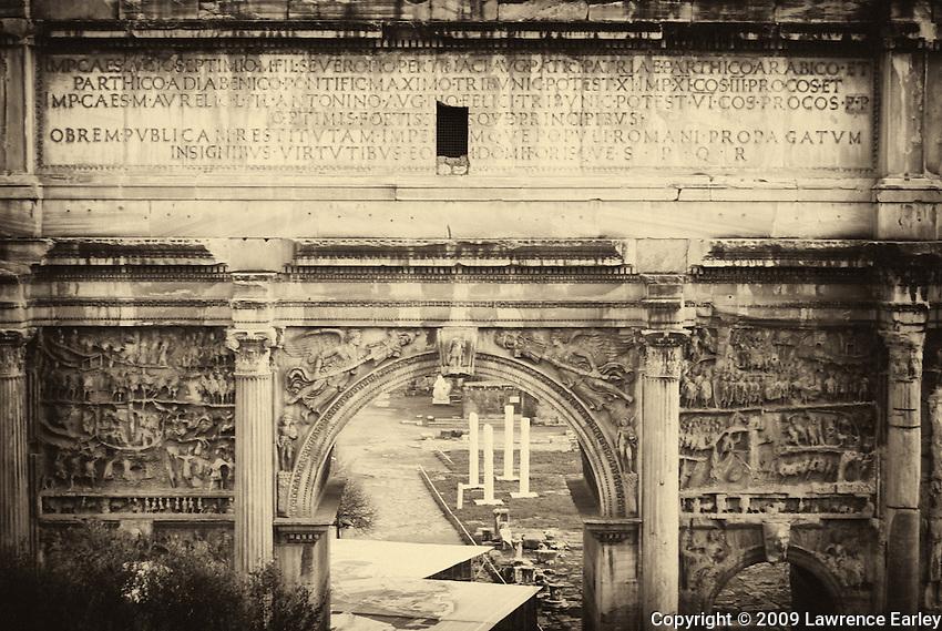 Arch of Emperor Septimius Severus.