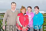 TRIATHLON: Competing in the 7 Frogs Triathlon in Castlegregory on Saturday l-r: John O'Connell, Una Moroney, Helen Pierce and Aoife O'Reilly, Killarney.