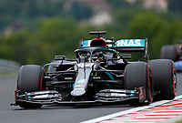 18th July 2020, Hungaroring, Budapest, Hungary; F1 Grand Prix of Hungary, qualifying sessions;  44 Lewis Hamilton GBR, Mercedes-AMG Petronas Formula One Team takes pole