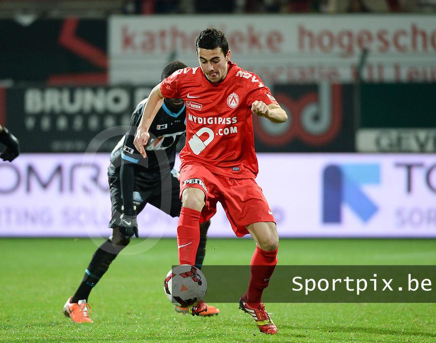 KV Kortrijk - AA Gent : Gregory Mahau <br /> foto VDB / Bart Vandenbroucke