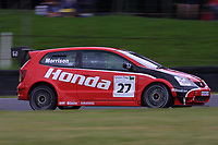 Round 9 of the 2002 British Touring Car Championship. #27 Alan Morrison (GBR). Honda Racing. Honda Civic Type-R.