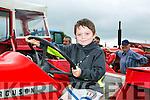 Enjoying the Abbeydorney Vintage rally on Sunday was  Aaron O'Carroll, Ballybunion
