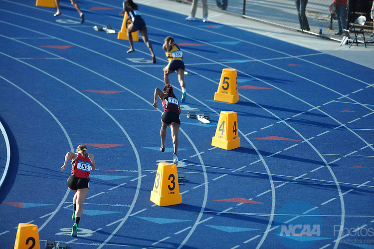 24 MAY 2014:  Competition takes place during the Division II Men's and Women's Outdoor Track & Field Championship held at the Grand Valley Track and Field Stadium in Allendale, MI.  Erik Holladay/NCAA Photos