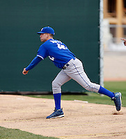 Daniel Duffy  - Kansas City Royals - 2009 spring training.Photo by:  Bill Mitchell/Four Seam Images