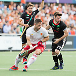 AMSTELVEEN - Ollie Willars (Eng) during the poulematch England v Germany (men) 3-4,Rabo Eurohockey Championships 2017.  WSP COPYRIGHT KOEN SUYK