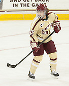 Jackie Young (BC - 25) - The Boston College Eagles defeated the visiting University of Maine Black Bears 10-0 on Saturday, December 1, 2012, at Kelley Rink in Conte Forum in Chestnut Hill, Massachusetts.