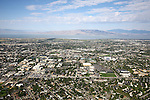 1309-22 1263<br /> <br /> 1309-22 BYU Campus Aerials<br /> <br /> Brigham Young University Campus, Provo, <br /> <br /> East Campus at Sunrise, East looking West, Provo, <br /> <br /> September 6, 2013<br /> <br /> Photo by Jaren Wilkey/BYU<br /> <br /> &copy; BYU PHOTO 2013<br /> All Rights Reserved<br /> photo@byu.edu  (801)422-7322