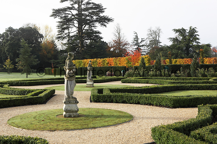 The grounds are maintained by professional gardeners