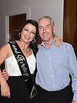 Mary Kinsella celebrating her 50th birthday in Brú with partner Michael Fitzsimons. Photo:Colin Bell/pressphotos.ie